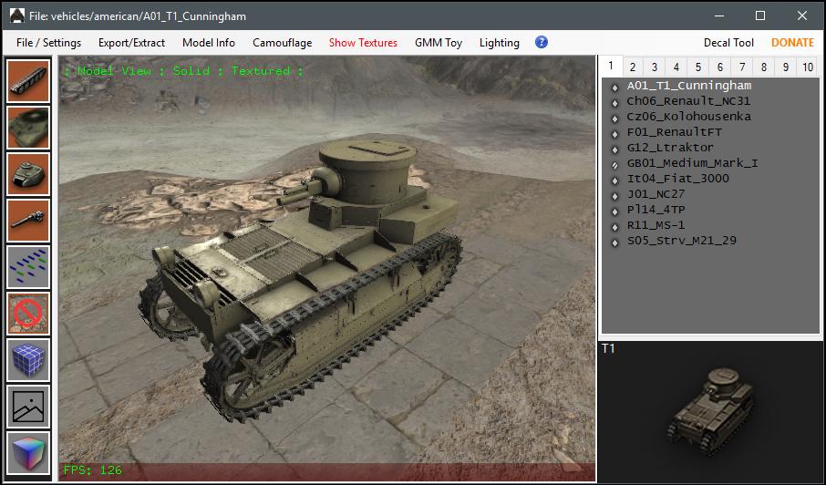 Tank Exporter Help